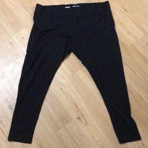Plus size black leggings size 3X by Sonoma.